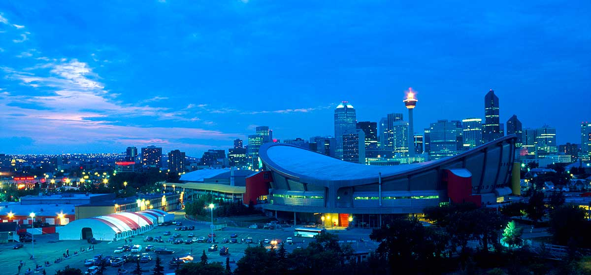 Calgary Skyline by Robert Berdan ©