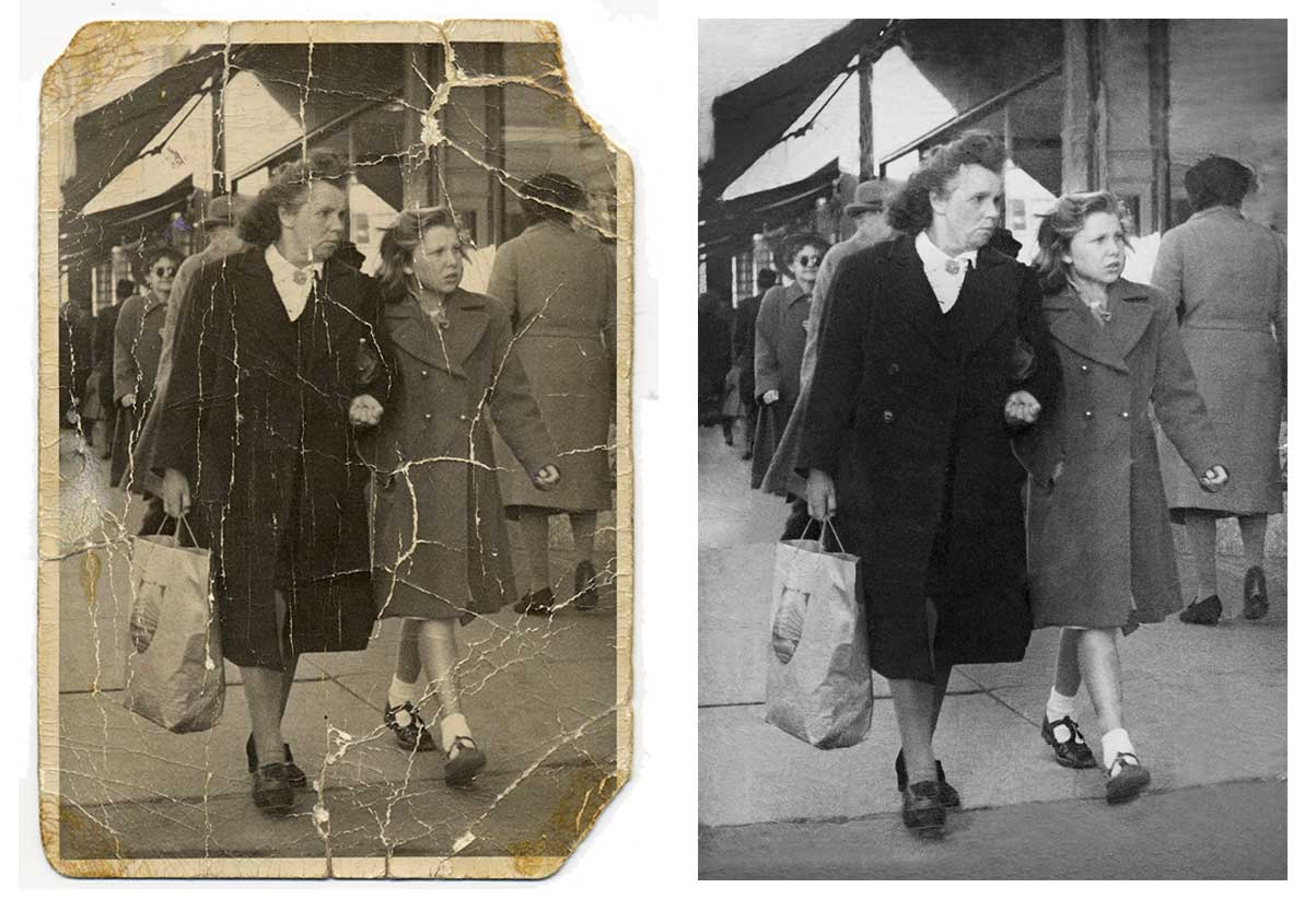 how to restore black and white photos 10 easy steps