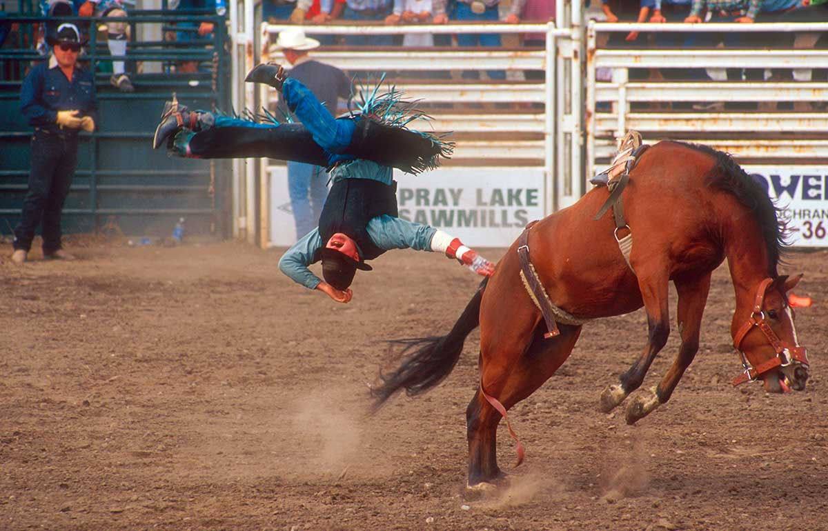 Rodeo photograph by Robert Berdan ©