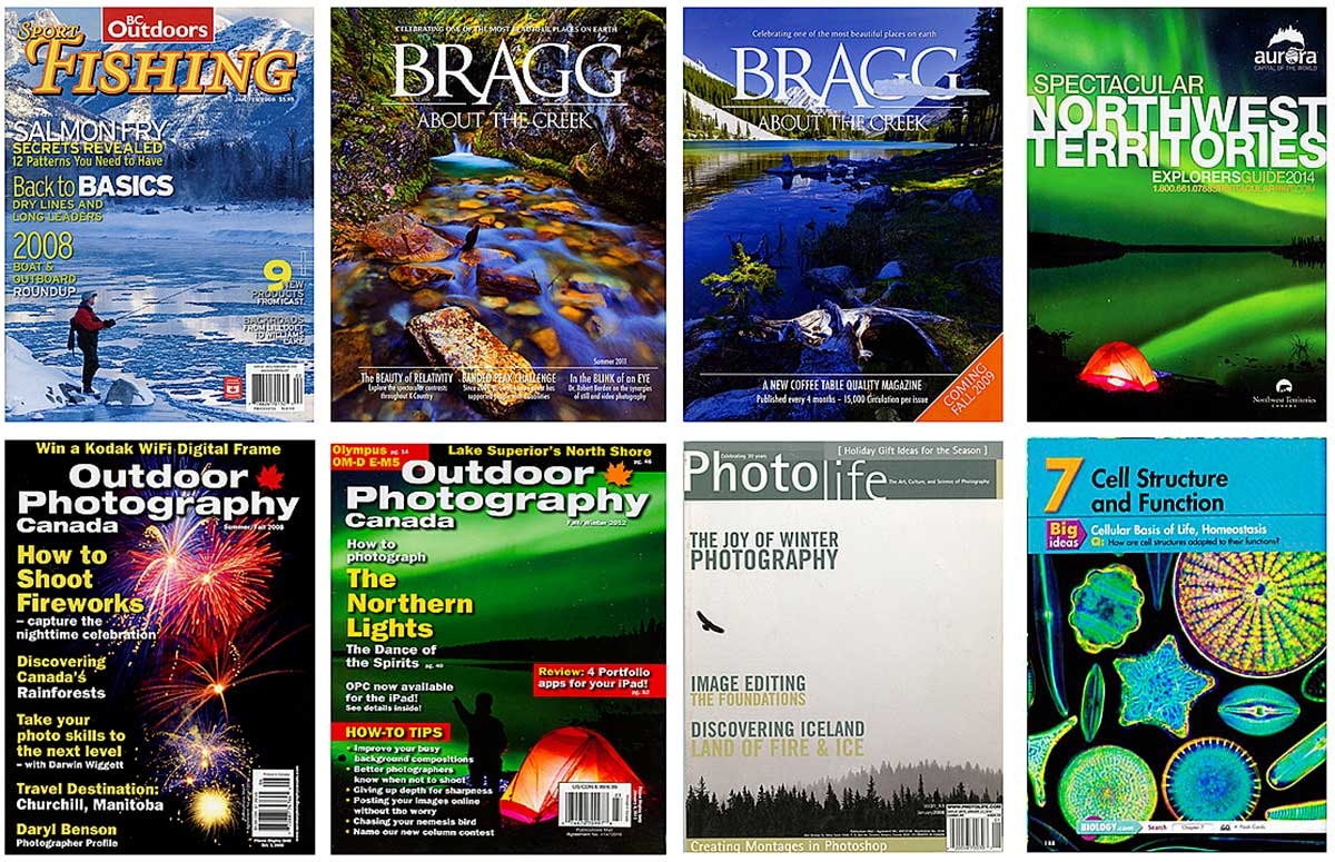 Magazine covers by Robert Berdan ©
