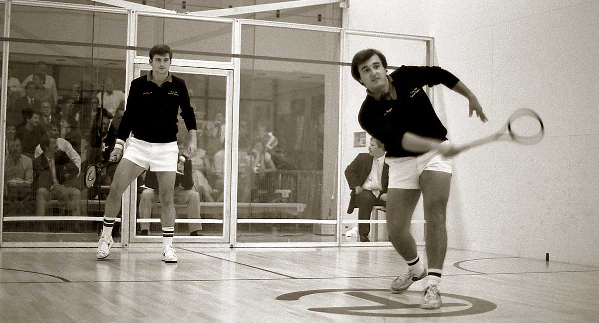 Texas world squash championships by Robert Berdan ©